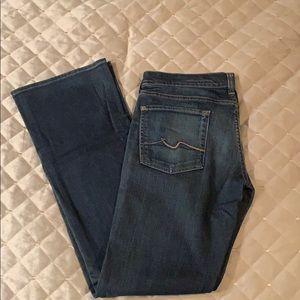 Woman's denim jeans